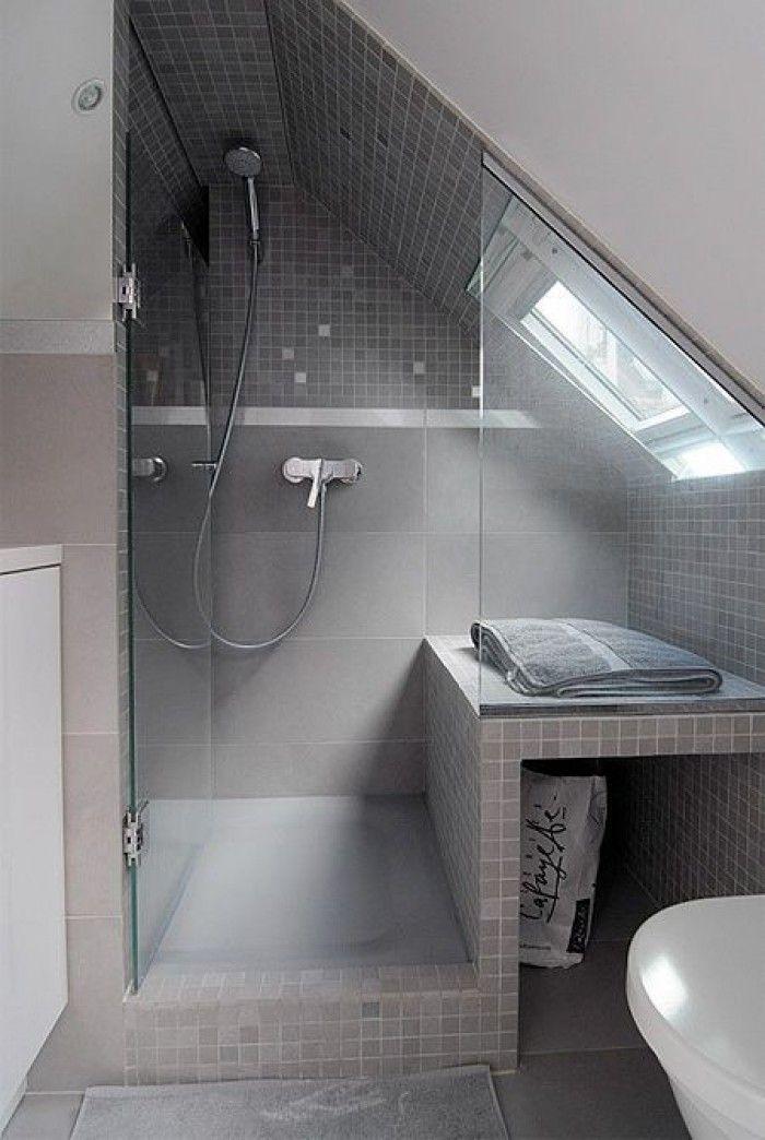 Klasse Einteilung Für Ein Kleines Badezimmer Mit Dachschräge ... Badezimmer Ideen Dachschrge