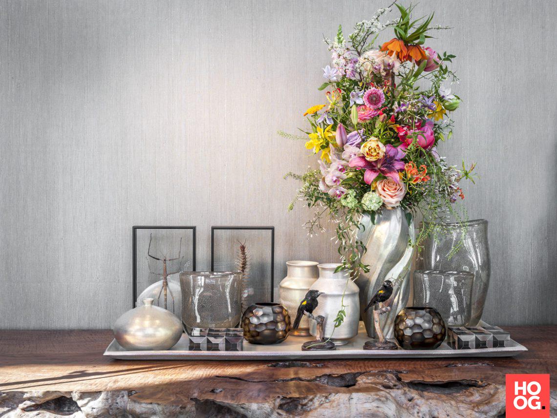 Oogenlust Prachtige Sfeer : Oogenlust hedendaags bloemstilleven hoog □ exclusieve woon