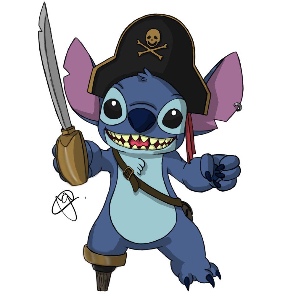 Stitch Pirata by BigBangCosta on DeviantArt   Disney Cruise ...