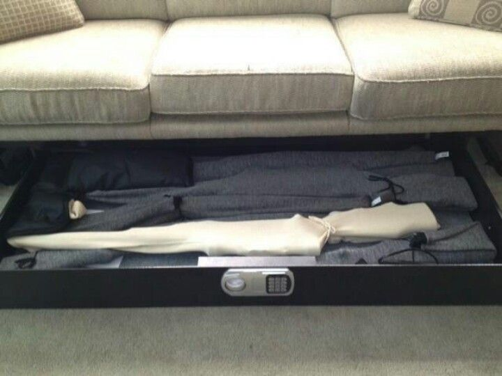 Like The Slide Out Gun Safe For Couch Rather Than Under Cushions Who Has Time To Pull Off