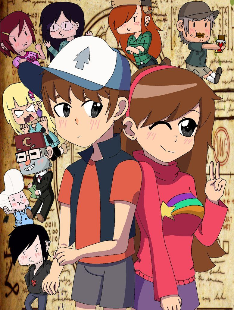 .:Over at Gravity Falls:. by TohruOnigriHonda865 on