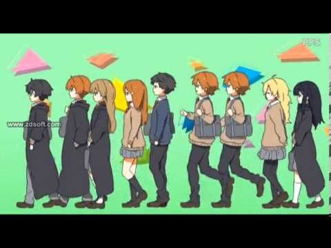 ▶ Harry Potter Anime style - YouTube  The best version of this I've seen in a while. Check it out and love the Gred and Feorge mayhem. =)