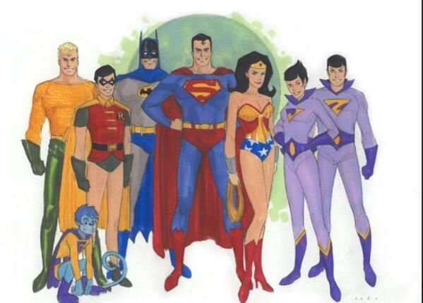 Eldetrascamara Recuerdodejoven On Twitter Dc Comics Superheroes Superfriends Phil Noto