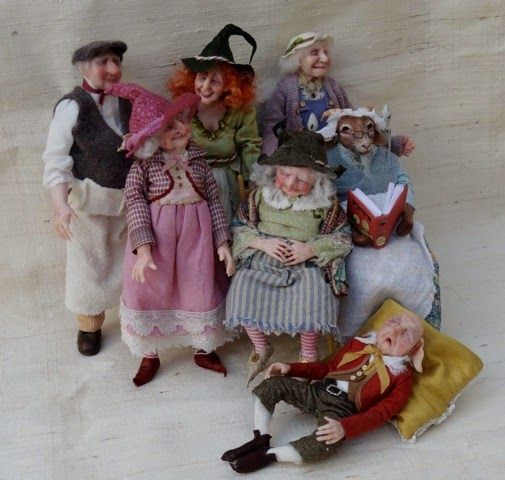 The Gidy Kipper dolls | Latest characters from The Giddy Kipper