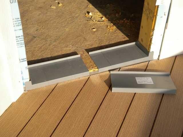 Inswing Exterior Door Threshold - Dark Bronze - ADA Compliant ...