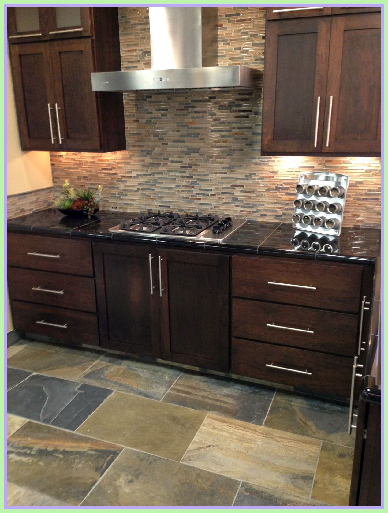 87 Reference Of Floor Tile Kitchen Wall Tiles In 2020 Patterned Tile Backsplash Kitchen Wall Tiles Backsplash Kitchen White Cabinets