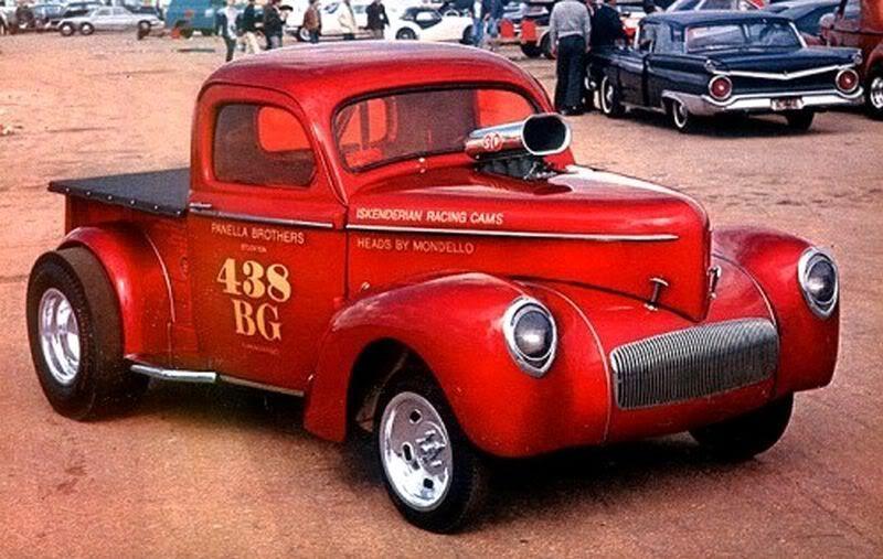1941 Willys Pickup13c Panella Bros