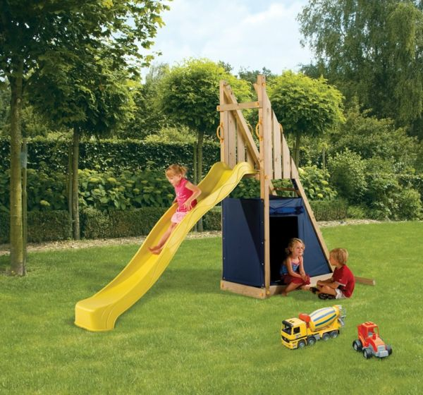 Kinderrutsche Im Garten Garantiert Grossen Kinderspass Kinderrutsche Garten Rutsche Garten Kinderspielplatz Garten