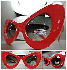 Novo Clássico Vintage Retro Anos 60 gato olho estilo Óculos De Sol  Exclusivo De Espessura do frame Vermelho 6e6530b9d9