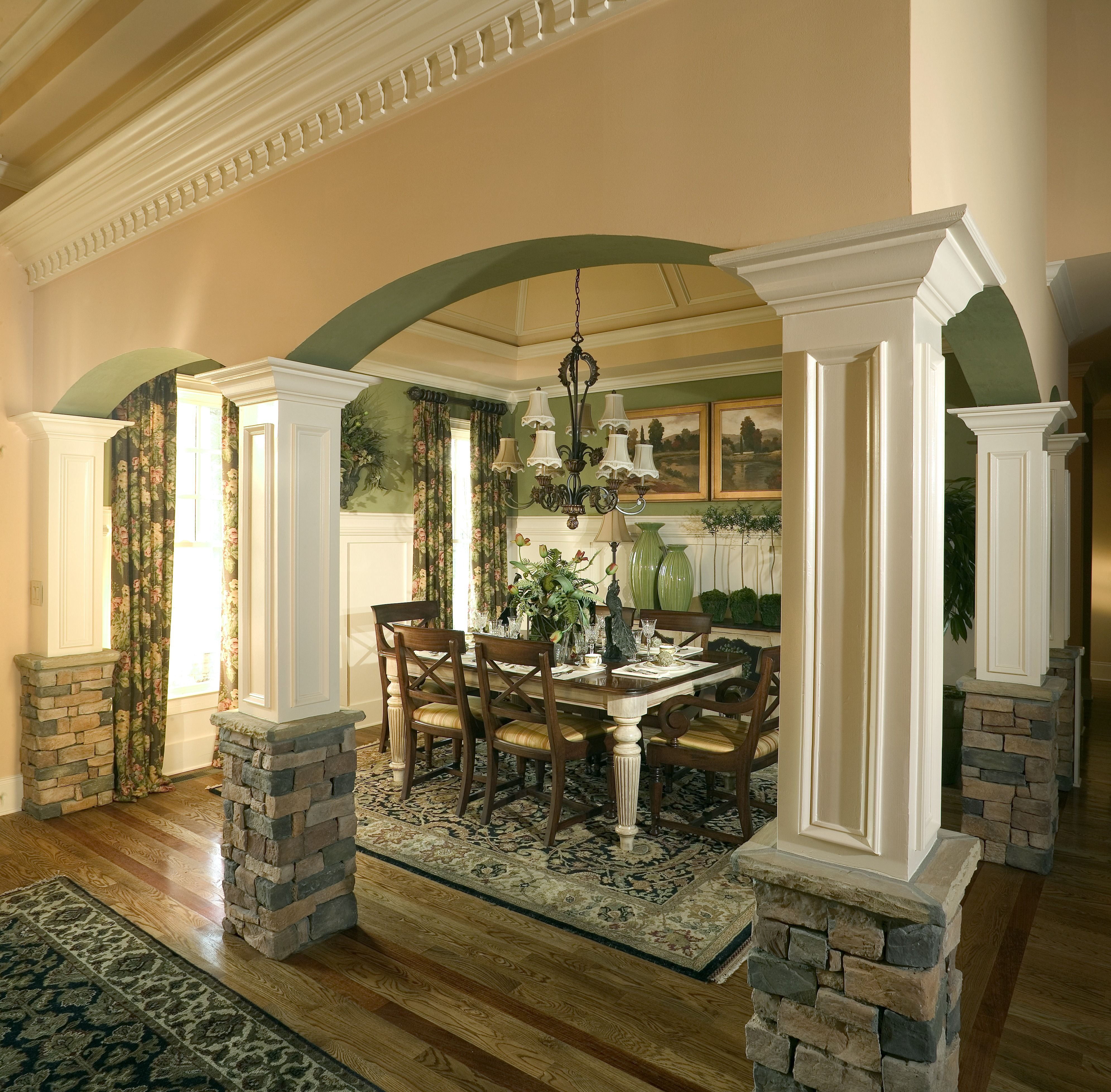 Traditional Dining Room That Kept The Look And Feel With