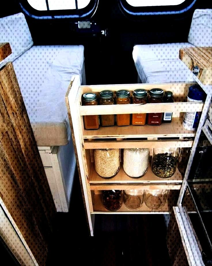 and Organization Ideas -Van Life Storage and Organization Ideas -  Bahn Camper Works is a van custo