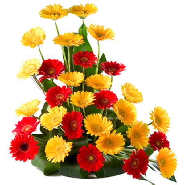Floral Arrangements Flower Arrangement Gerbera Daisy China Funeral Flower Flower Artificial Flower Arrangements Artificial Flowers Flower Delivery