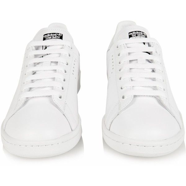 b565f7a9da8 Raf Simons X Adidas Stan Smith leather trainers (37585 RSD) ❤ liked on Polyvore  featuring shoes