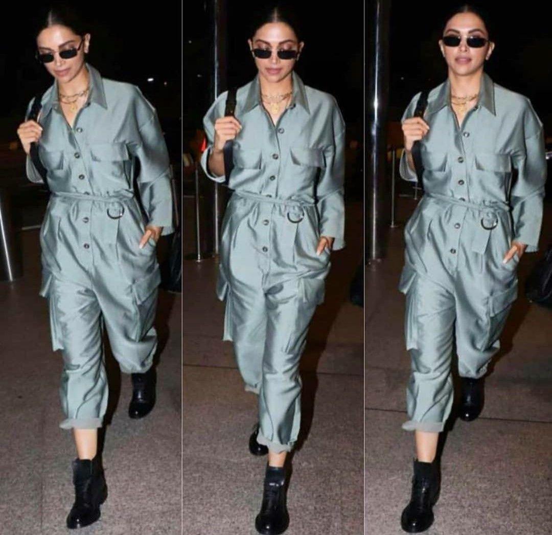 Airport look | Deepika padukone style, Streetwear fashion ...