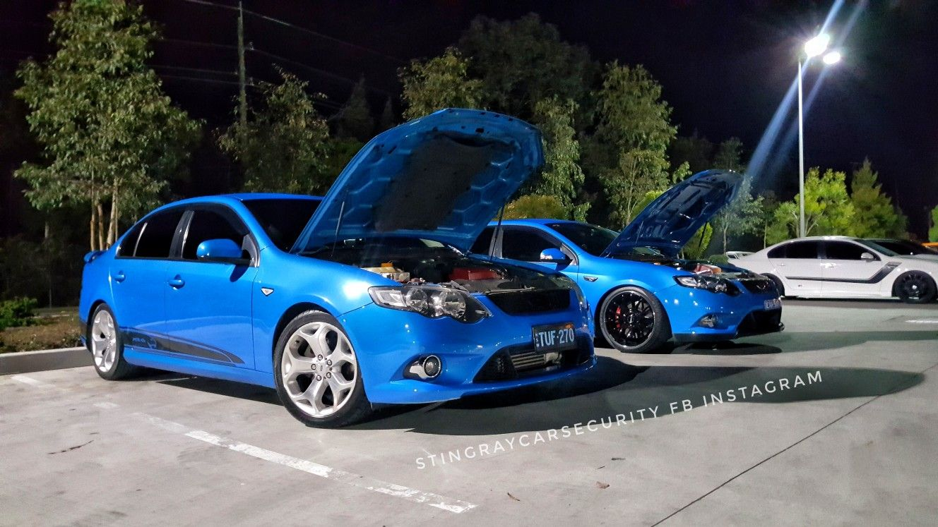 2 Nitro Blue Fg Xr6 Turbo Ford Falcons 2 Good Mates Ford