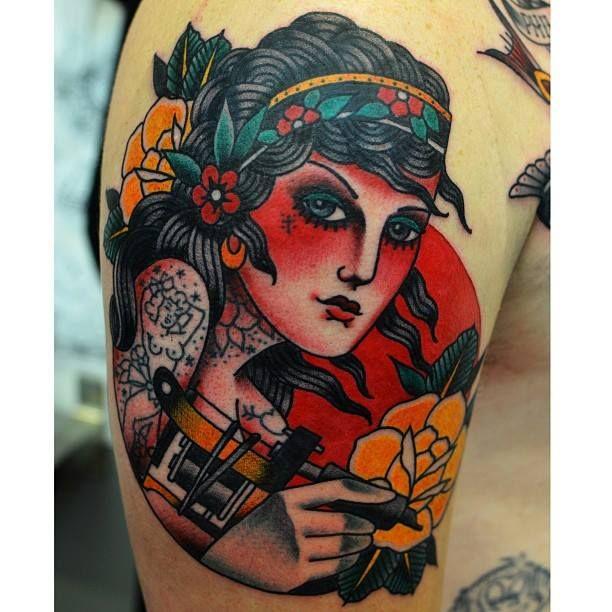 Adam Truarn Perth Australia Tattoos Traditional Tattoo American Traditional Tattoo