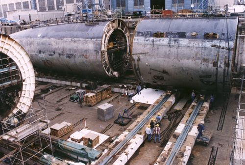 Dismantling Nuclear Submarines