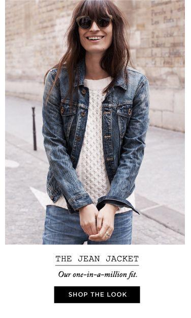 denim // denim // sweater