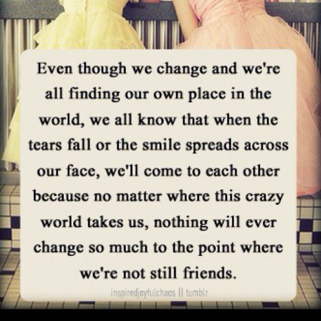 Friendship Quotes Maid Of Honor Speech: Friends Forever