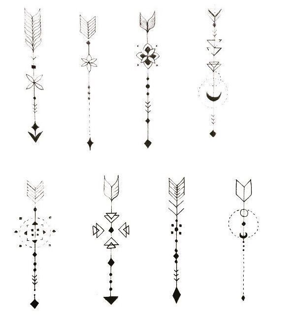 Dibujos Flecha Tatuajes Pinterest