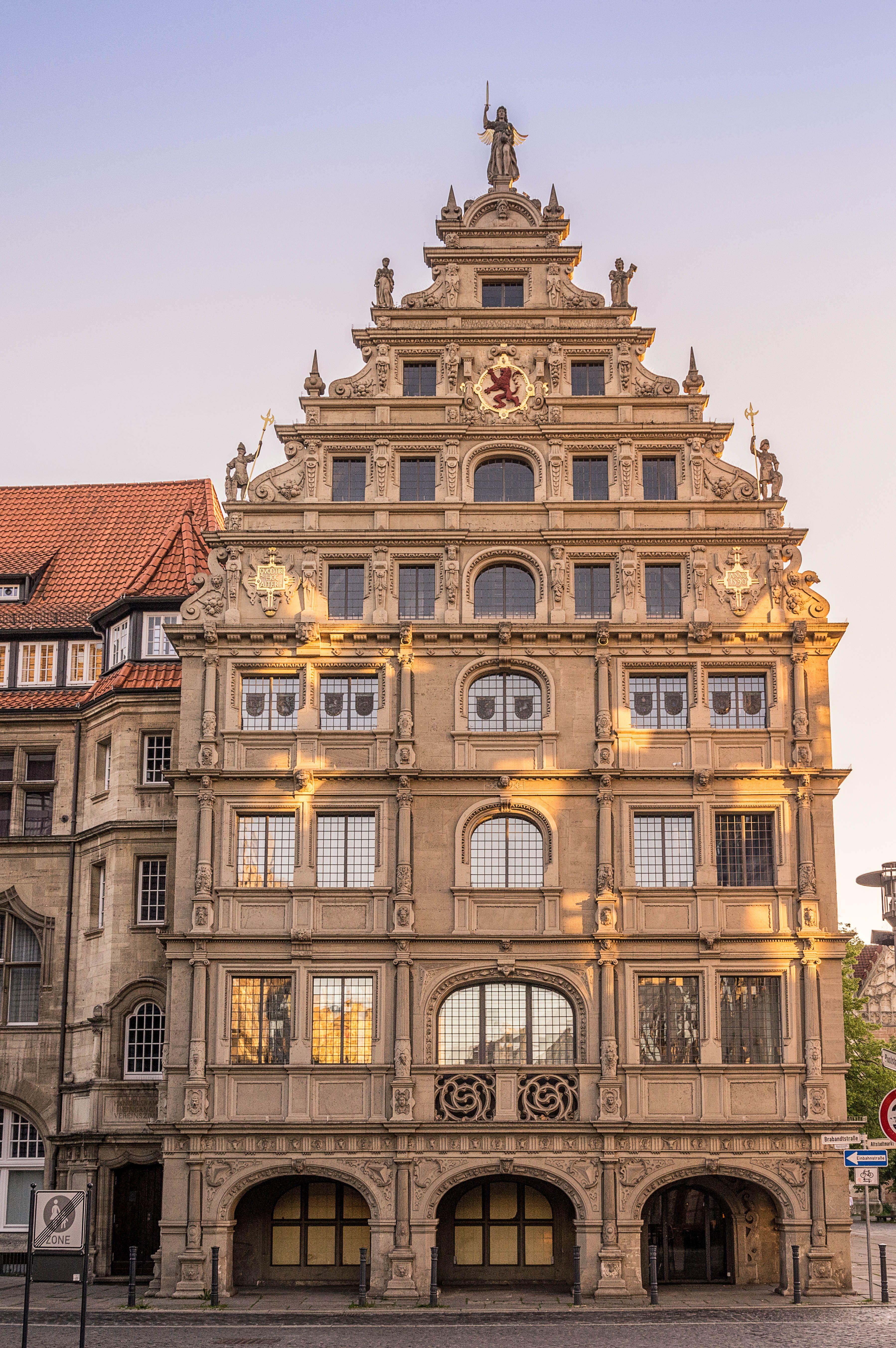 Gewandhaus Eintracht braunschweig, Architektur, Tourismus