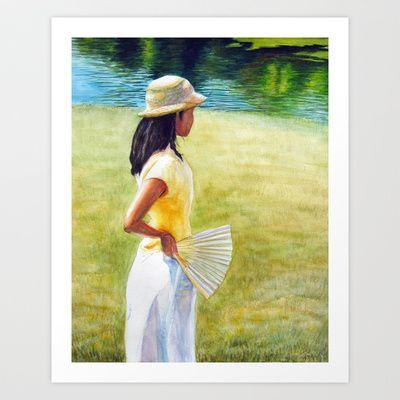 Summer, Art Print by Helena Hsieh