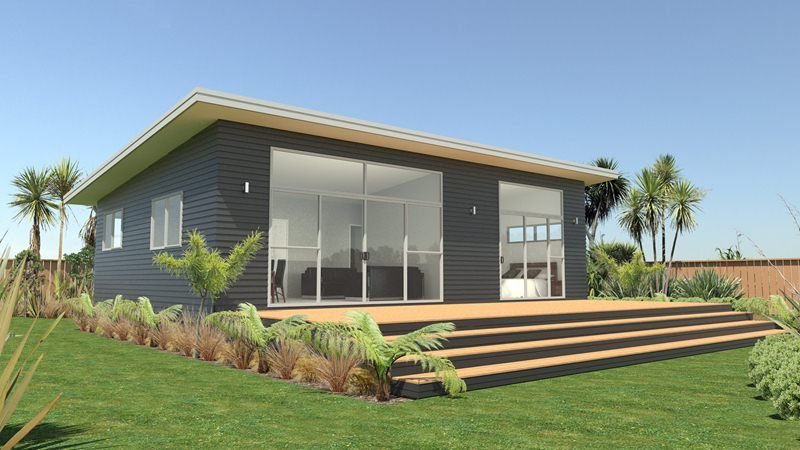 70 Sqm New Home And Or Second Dwelling Coastal House Plans Cabins For Sale Portable House