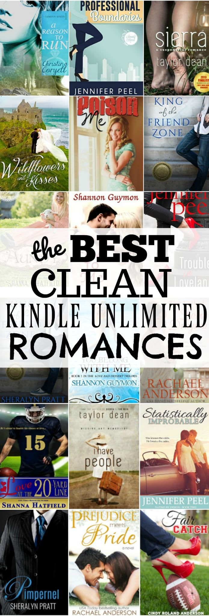 The Very BEST, Clean Kindle Unlimited Romance Books   Books