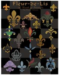 Fleur De Lis Stencil Book From Www All About Stencils