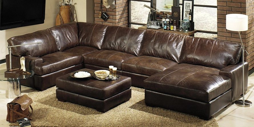 Extra Deep Leather Sectional Sofa Sectional Sofa With Chaise Sectional Sofa With Recliner Leather Sectional Sofas