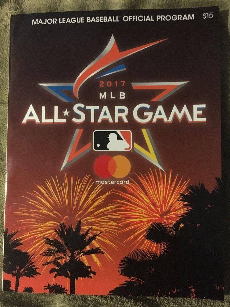 low priced 2d4c9 c68fd 2017 Major League Baseball Official All-Star Game Program