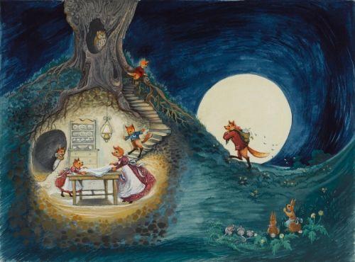 Fantastic Mr Fox Illustrated By Donald Chaffin Art Illustration Whimsical Art
