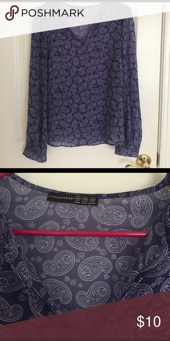 NWOT purple blouse Tag says UK size 10. Would say this fits as a S/M. Super cute but NEVER WORN! Tagged for exposure. J. Crew Tops Blouses