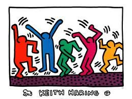 keith haring - Movement