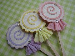 Sweet Pink Lollipop Candy | por vsroses.com