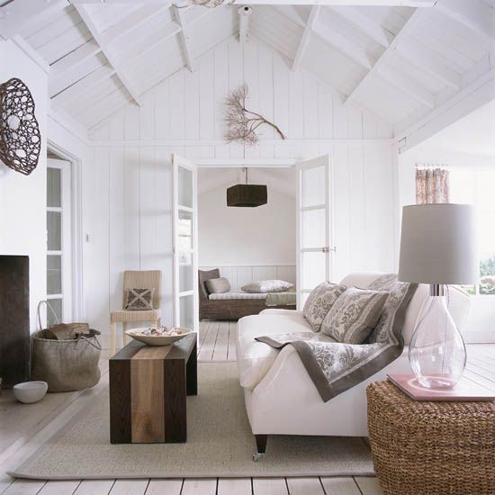 coastal living room decorating ideas uk furniture sets west elm rooms to recreate carefree beach days spaces white photo gallery ideal home housetohome co