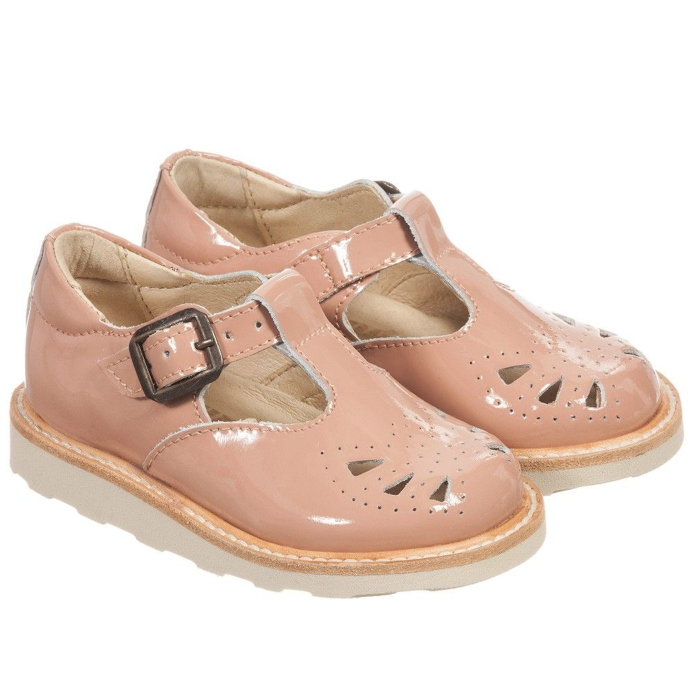 S Pale Pink Patent Leather Rosie Shoes By Young Soles These Clic T