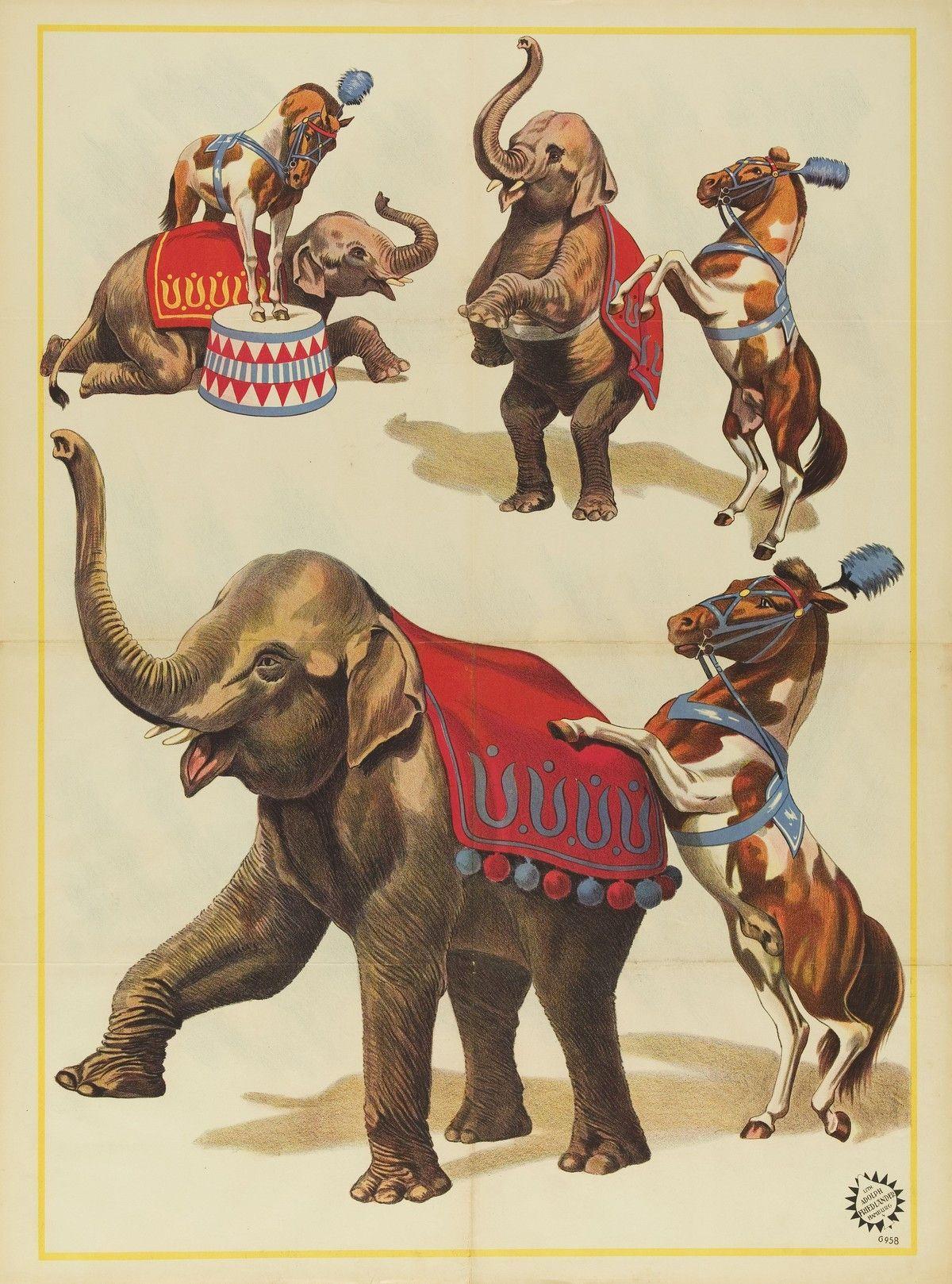Винтажные картинки цирк, сочи