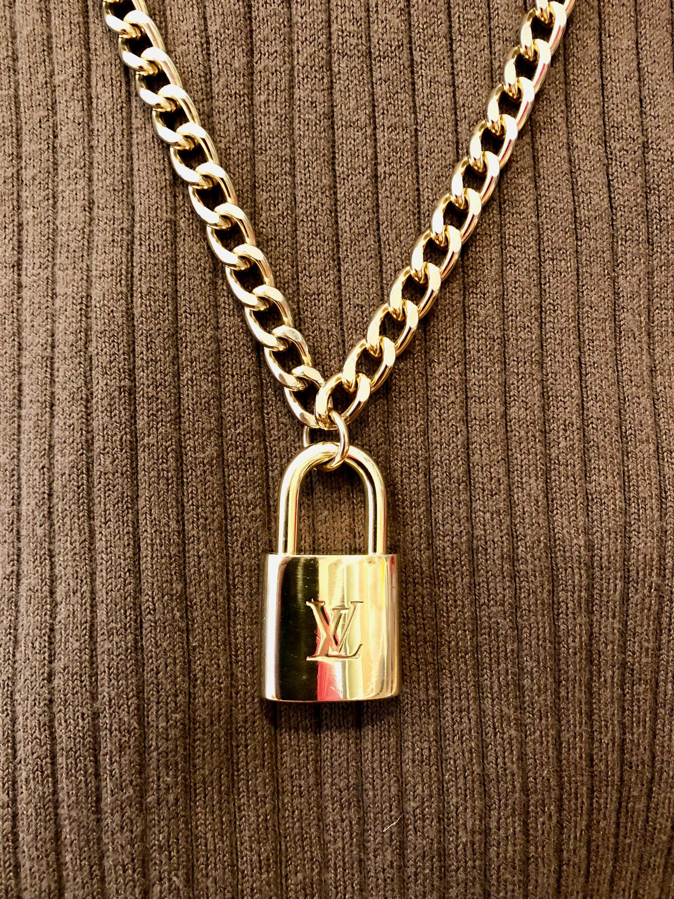1d0110e951fe1 Pin by LouisVuittonUpcycle on Lv | Gold necklace, Authentic louis ...