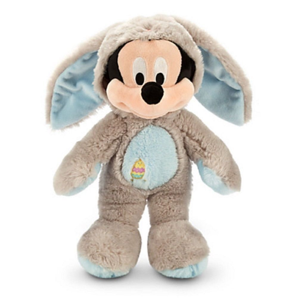 Disney store mickey mouse bunny easter rabbit plush toy exclusive gray 2014 new easter gifts - Disney store mickey mouse ...