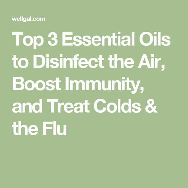 Top 3 Essential Oils to Disinfect the Air, Boost Immunity
