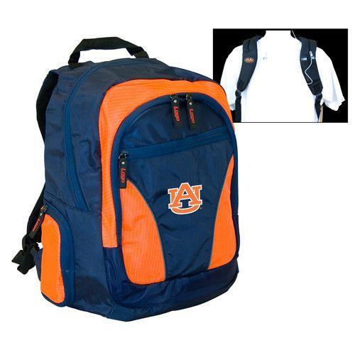 Auburn Tigers NCAA 2-Strap Backpack