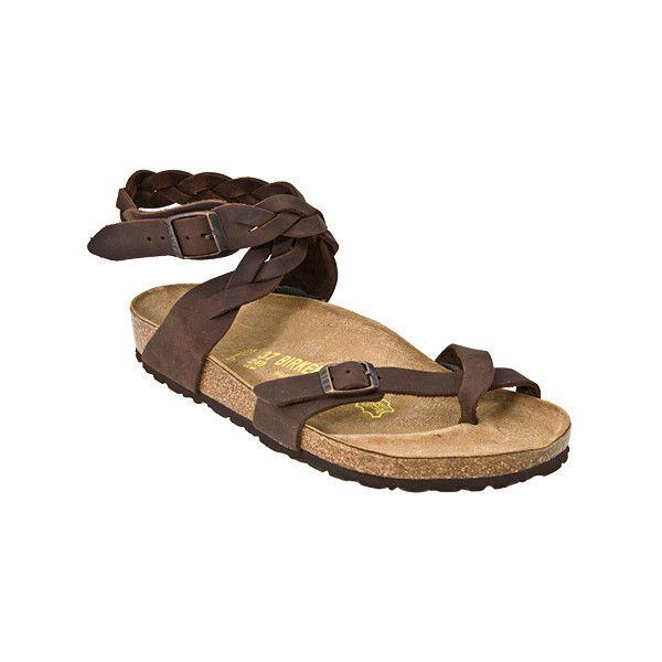 Birkenstock Yara Woven Sandals Habana Antique Brown Women