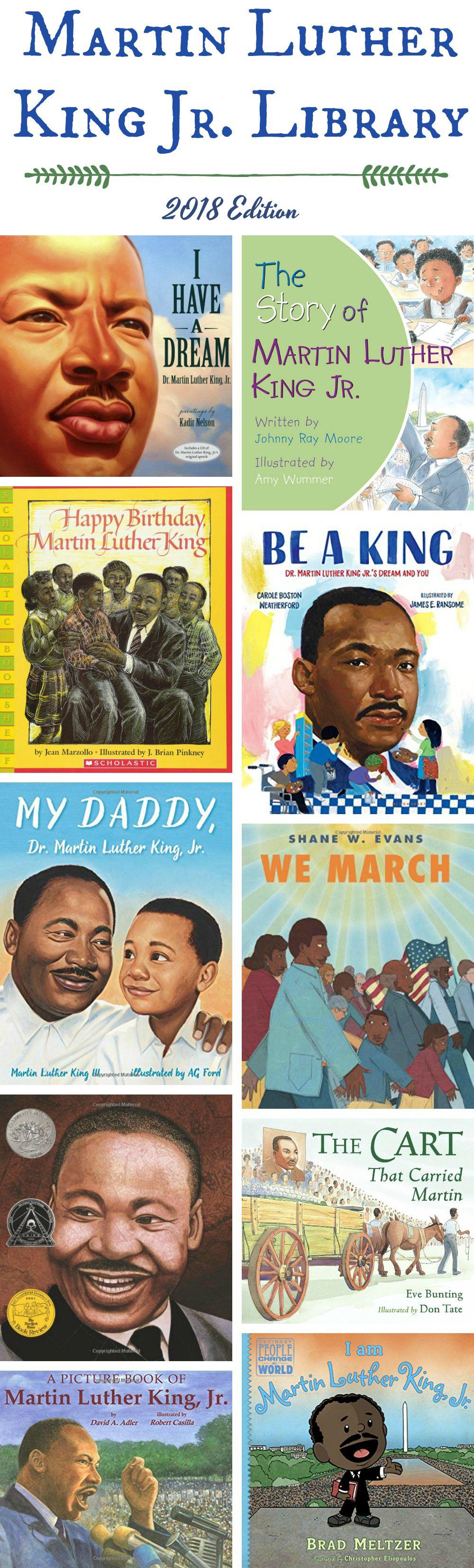 MLK Jr. Day Books for Kids: 2018 Edition | Day book, Mlk ...