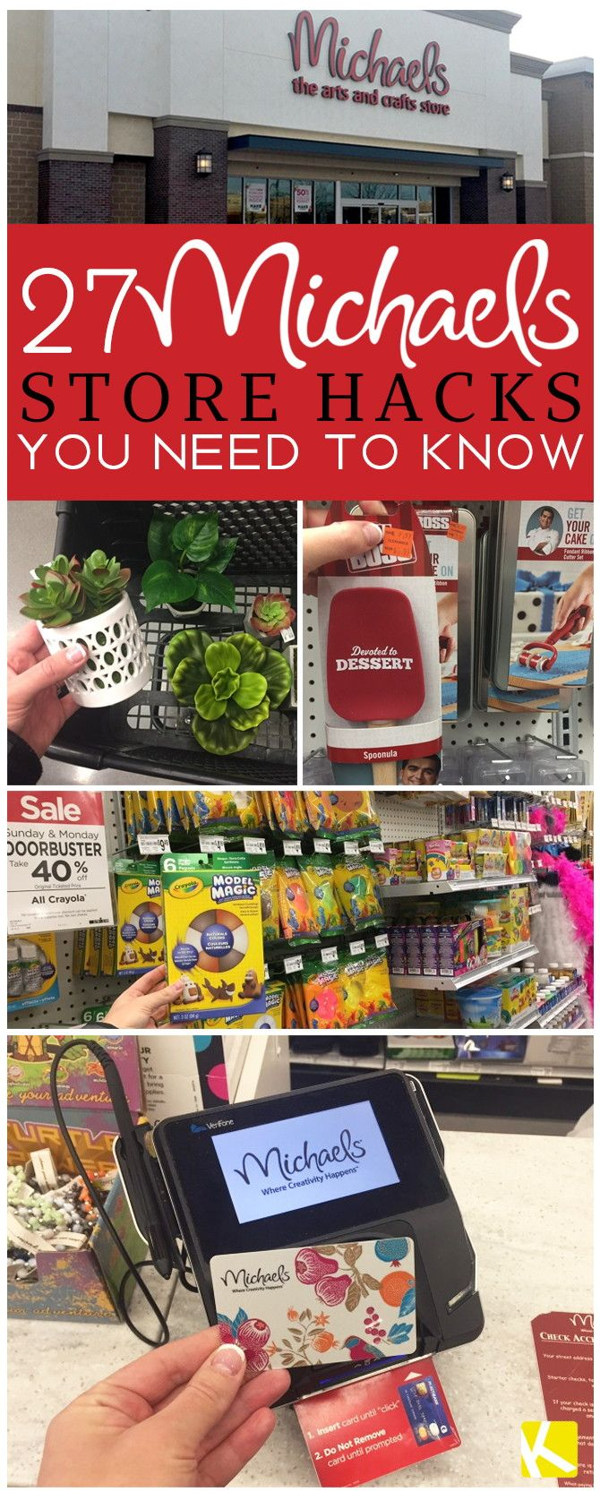 27 Michaels Store Hacks You Need to Know | Couponing | Pinterest ...