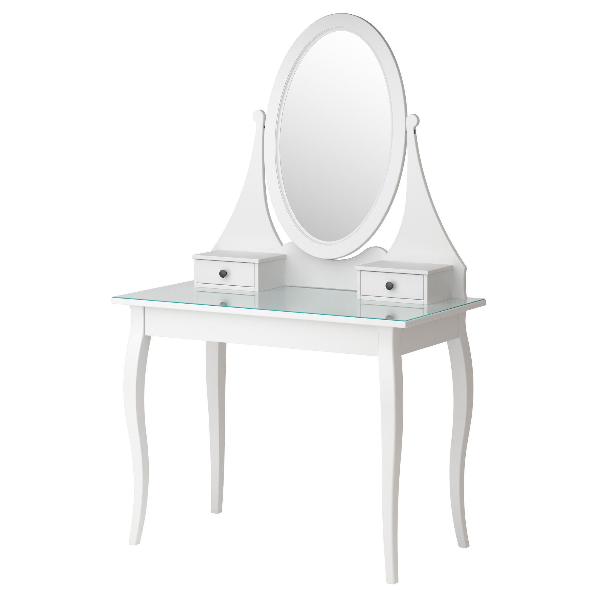 hemnes dressing table with mirror ikea width 39 3 8. Black Bedroom Furniture Sets. Home Design Ideas