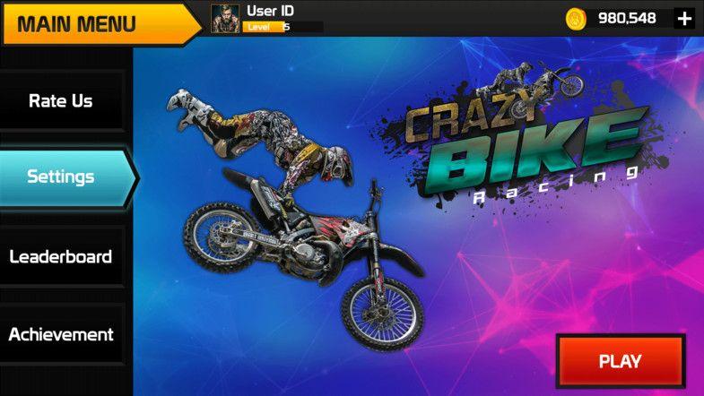 Bike Racing Graphics CxS (GUI Skin 11) Sponsored , spon