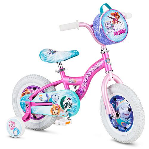 21e33780bc1c Girls 12 inch Pacific Cycle Skye Paw Patrol Bike - Pacific Cycle - Toys