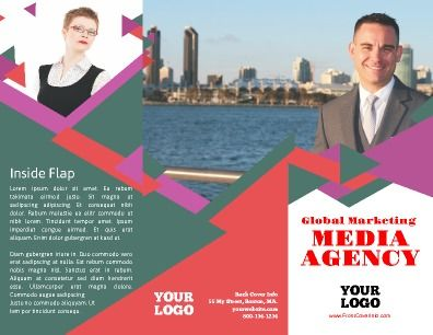 Outside tri-fold, Marketing Brochure 100 customizable to any need