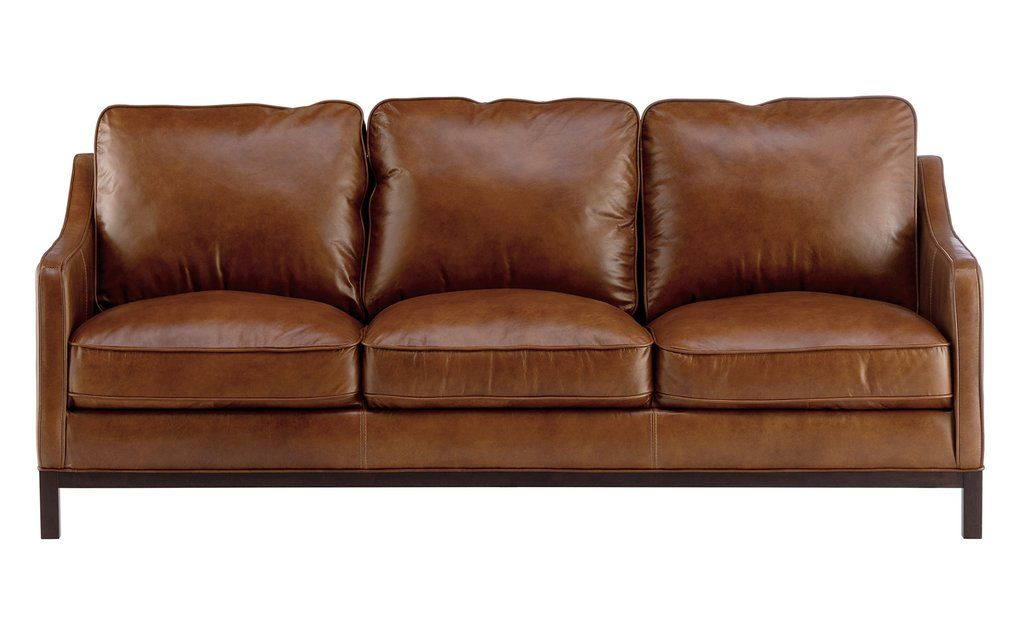 Pepin Leather Sofa Expensive Furniture Top Grain Leather Soft Seating
